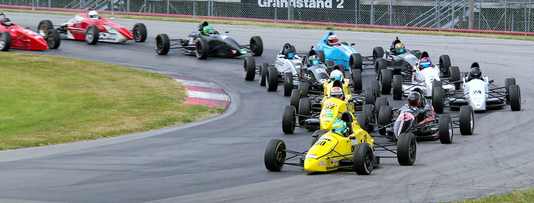 July 03, 2016: SCCA Pro F1600 Race at Mid-Ohio Sports Car Course