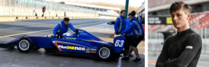 kaylen frederick | pilot one racing | kaylen and team