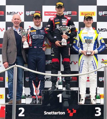 BRDC Snetterton Race Updates