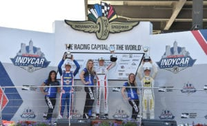 kaylen frederick | pilot one racing | winners podium