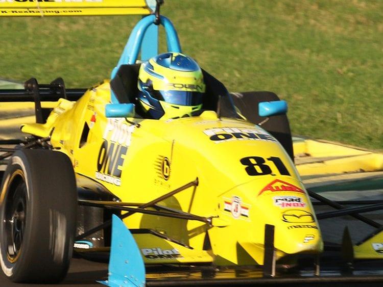 kaylen frederick | pilot one racing | race car