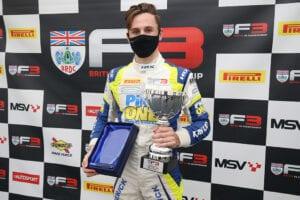 kaylen frederick | pilot one racing | trophy
