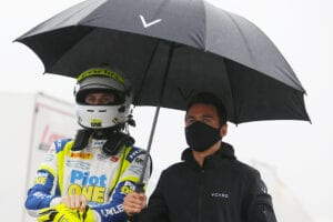 kaylen frederick | pilot one racing | under umbrella