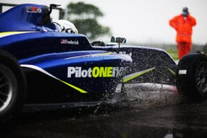 kaylen frederick | pilot one racing | tires splash water