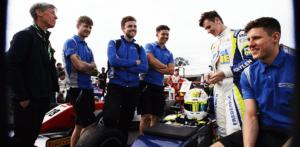 kaylen frederick | pilot one racing | kaylen with team