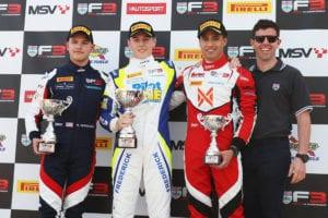 kaylen frederick | pilot one racing | winners podium 1st
