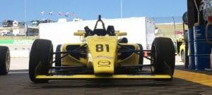 kaylen frederick | pilot one racing | 81 race car