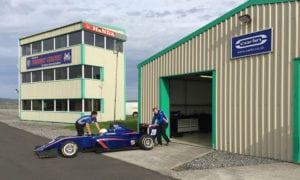 kaylen frederick | pilot one racing | carlin garage