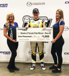 kaylen frederick | pilot one racing | winners check