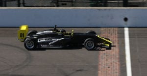 kaylen frederick | pilot one racing | finish line
