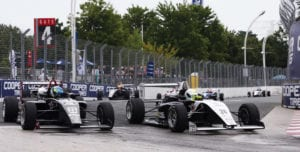 kaylen frederick   pilot one racing   race cars turning