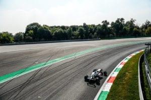 kaylen frederick | pilot one racing | race car testing