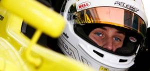 kaylen frederick | pilot one racing | kaylen through visor