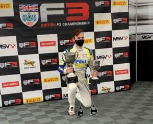kaylen frederick | pilot one racing | f3 podium number 2