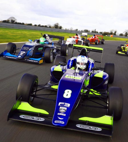 Frederick flies to fastest time on BRDC F3 Snetterton Media Day!