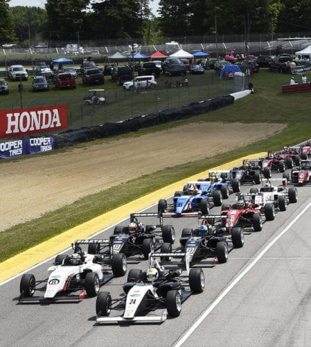 Mid-Ohio: Qualified P2 & Pole! But then…
