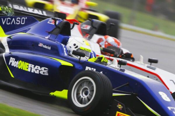 kaylen frederick | pilot one racing | race car racing
