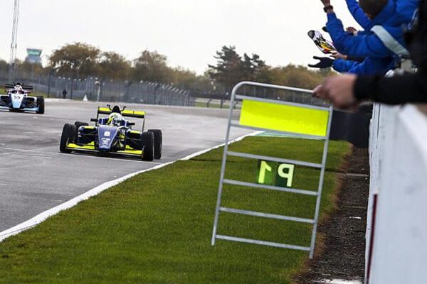 kaylen frederick | pilot one racing | winning lap