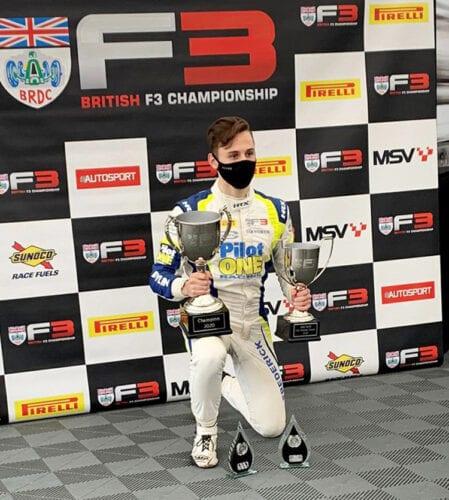 Summary Stats: 2020 BRDC F3 Champion