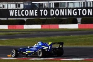kaylen frederick   pilot one racing   race car donington